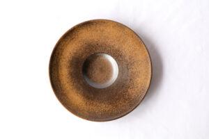 リゾット皿[29cm]マンガン結晶釉